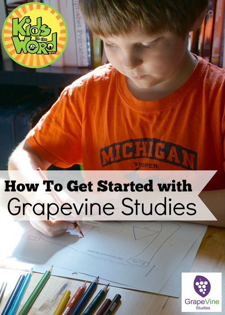 Struggle with how to start teaching the Bible to your kids? Struggle with how to teach multiple ages at the same time? Grapevine Studies can help!