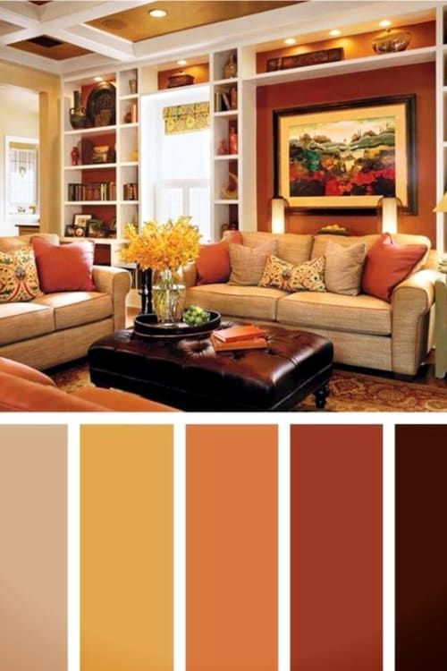 Beautiful Warm Paint Colors For Living Rooms Both Big Family Rooms And Small Lving Rooms In 2020 Warm Living Room Colors Living Room Warm Living Room Color Schemes