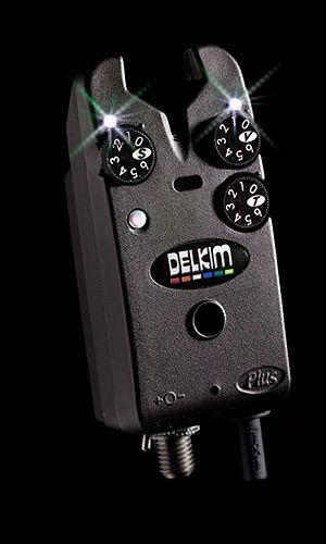 Delkim-NEW-Carp-Fishing-TXI-Plus-Bite-Alarm-FREE-Duracell-9v-Battery