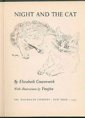 Night and the Cat, Elizabeth Coatsworth (illustrated by Foujita)
