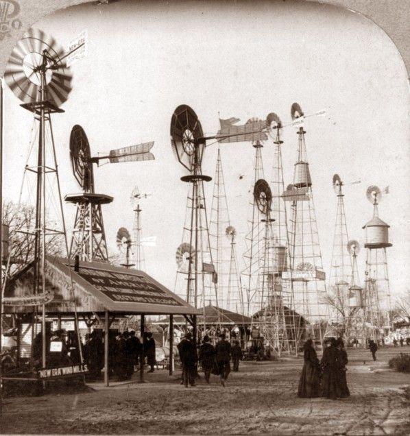 Windmills for Sale, World Fair, St. Louis, 1904  (via Retronaut)