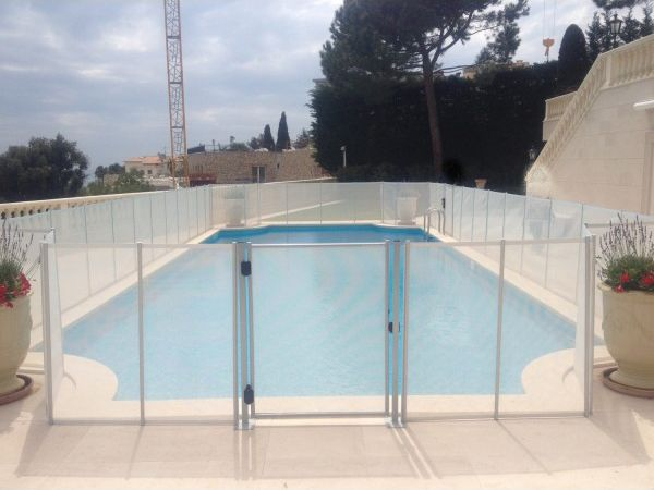 1000 id es sur le th me cl ture moderne sur pinterest for Barriere amovible pour piscine