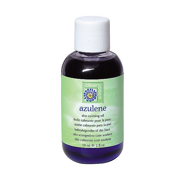 Clean   easy Azulene Oil soothes the skin after any type of hair removal.