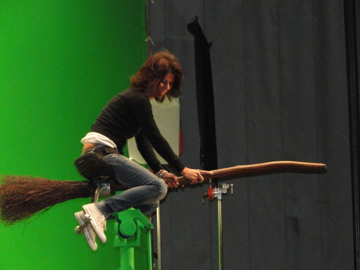 how to fly on a broomstick