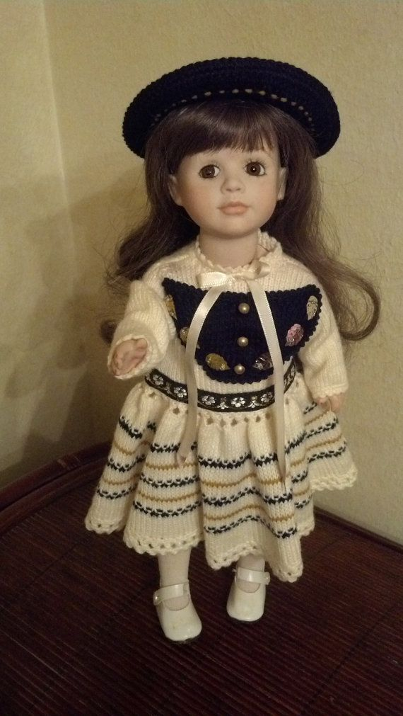 """Sparrow 13"""" All Porcelain Doll"""