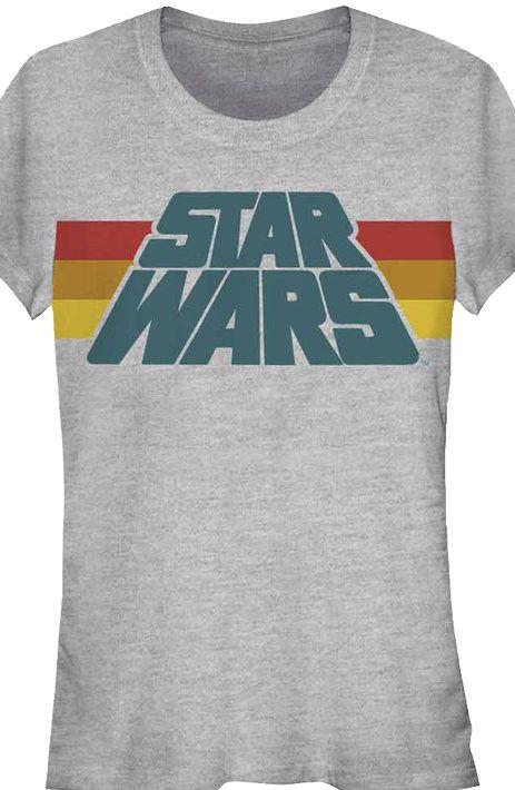 http://www.thekesselrunway.com/retro-logo-tee-at-80s-tees/ #thekesselrunway #starwarsfashion