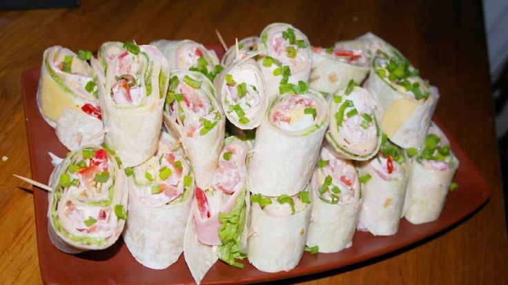 Tortille-przekąska idealna na imprezę