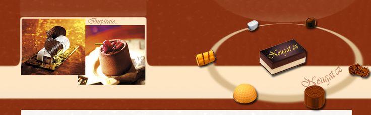 Nougat - pro pečení z čokolády