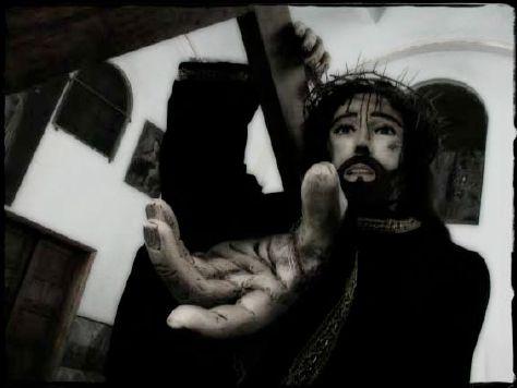 """""""Su linea de la vida"""" - 2002/2002 - Ajusco, Distrito Federal, Mexico - Original digital  - Imagen modificada digitalmente - Derechos reservados de todo el Web Site © Copyright 2008 Pedro Meyer"""