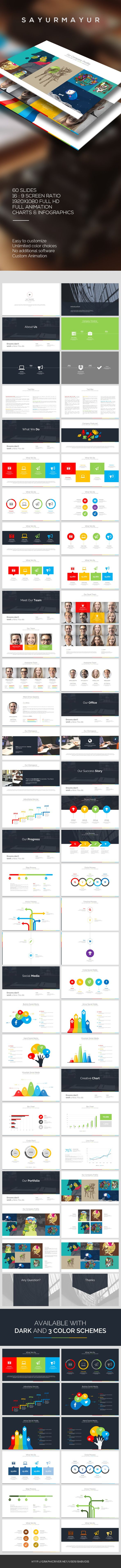 Sayurmayur PowerPoint Template #powerpoint #powerpointtemplate Download: http://graphicriver.net/item/sayurmayur-powerpoint-template/10041293?ref=ksioks