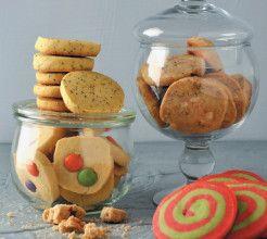 Slice n' Bake Vanilla Cookies #Dessert #Recipe #SouthArica
