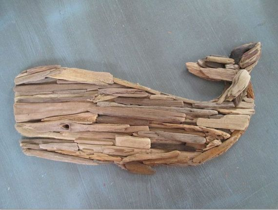 driftwood whale as seen in hgtv magazine made to order upcycled beach decor
