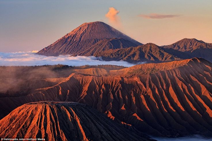 Attraction: The volcano is part of the Bromo Tengger Semeru National Park which attracts thousands of visitors to East Java every year