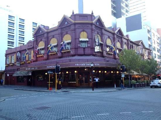 Miss Maude Swedish Hotel, Perth, Western Australia
