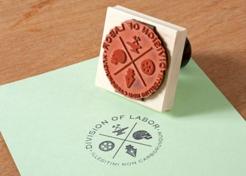 Like the idea of a logo that looks good as a stamp