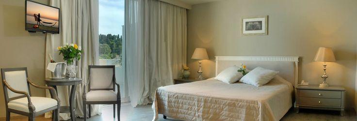 Deluxerom – Mon Repos Palace Art Hotel i Korfu by i Hellas PRIS: 13196 -> 6598