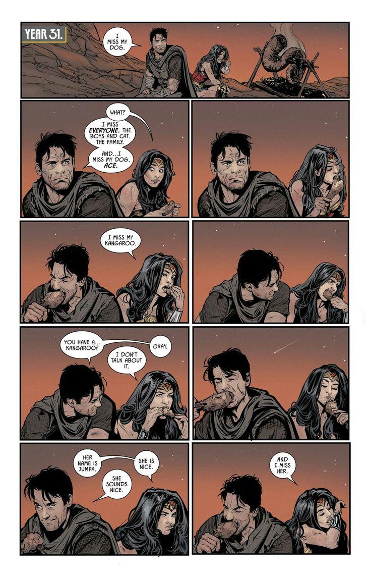 Batman and wonder woman in Batman #40