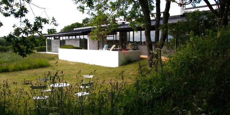 Villa Holsby was designed by Per Friberg and built in 1960.