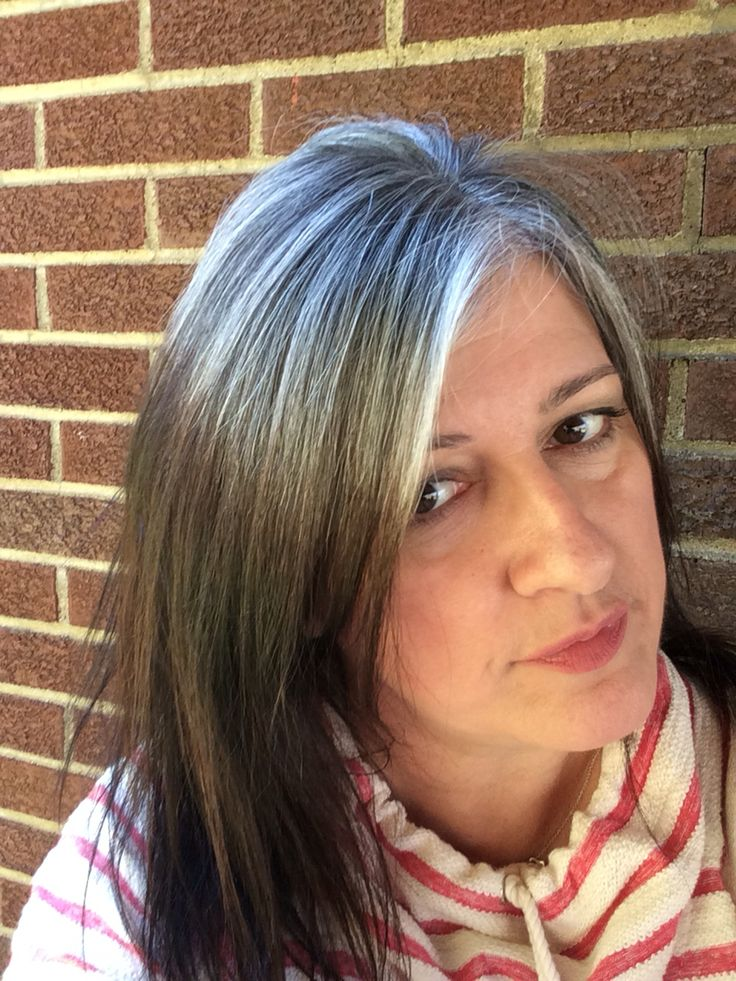 217 best Grey hair transitions images on Pinterest | Grey hair ...
