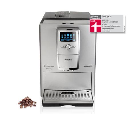 Nivona CafeRomatica NICR 831, Espresso, Cappuccino, Latte macchiato und mehr