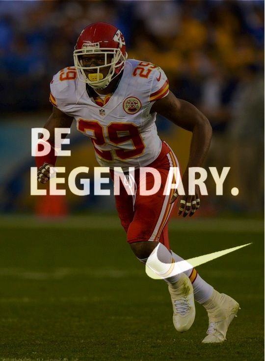 Eric Berry! One of the best ever DB to put on the Orange & White uniform! Wears 29 to honor former Vol Inky Johnson!  He taught me to never be scared of anybody. Always, always go as hard as I can whether it's in a workout or a classroom because you never know. . . Eric Berry on Inky Johnson