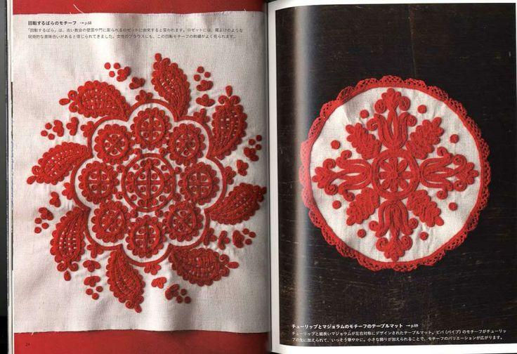 Transylvanian embroidery stitches, in Japanese book!
