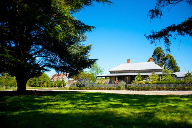 Country cottage @ Aghadoe Estate | Daylesford, VIC | Accommodation. From $900 per night. Sleeps 10 #heritagehome