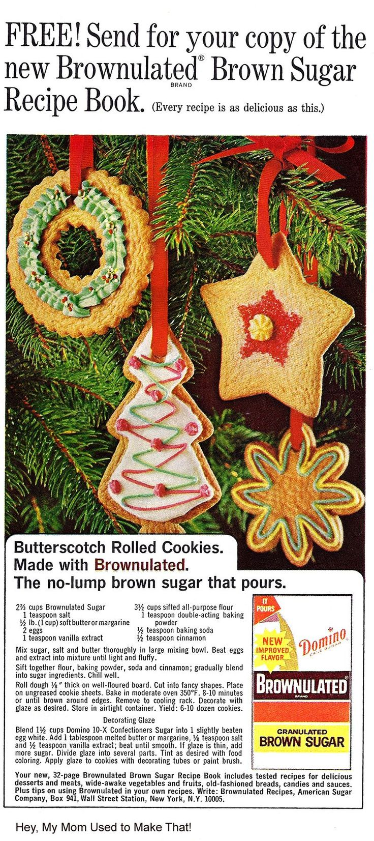 143 best Vintage Christmas Food Ads and Recipes images on ...