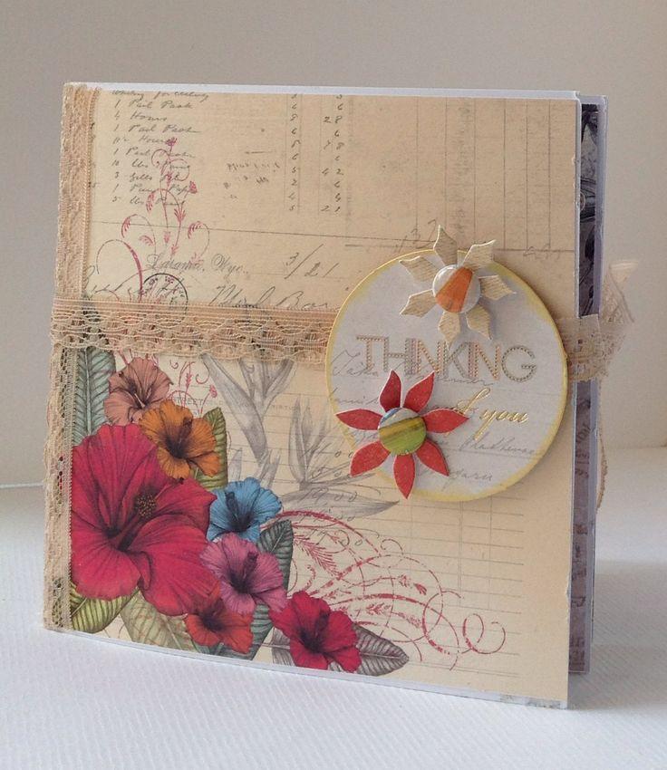Card Making Paradise Part - 18: Card Designed By Julie Lenton Using Paradise Collection. Craftwork  CardsCardmakingParadise