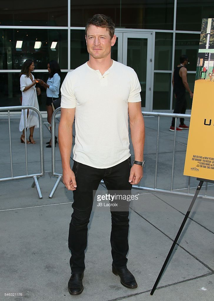 Philip Winchester attends the premiere of Vertical Entertainment's 'Undrafted' on July 11, 2016 in Hollywood, California.