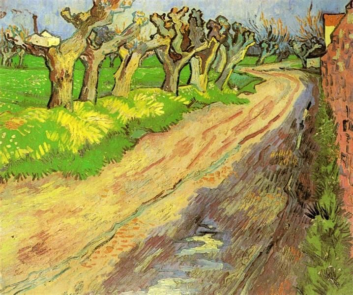 Pollard Willows 1889 Vincent van Gogh
