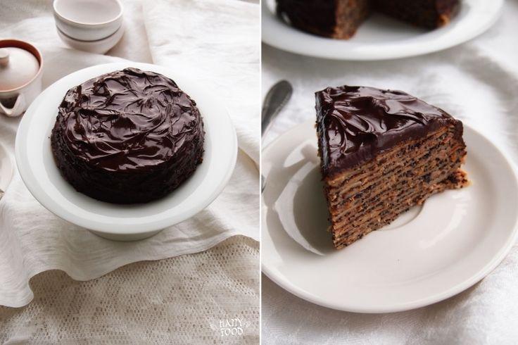 HAPPYFOOD - Блинный пирог с маком и шоколадом