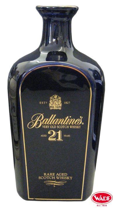 Ballantine's Scotch Whisky Ceramic Decanter.
