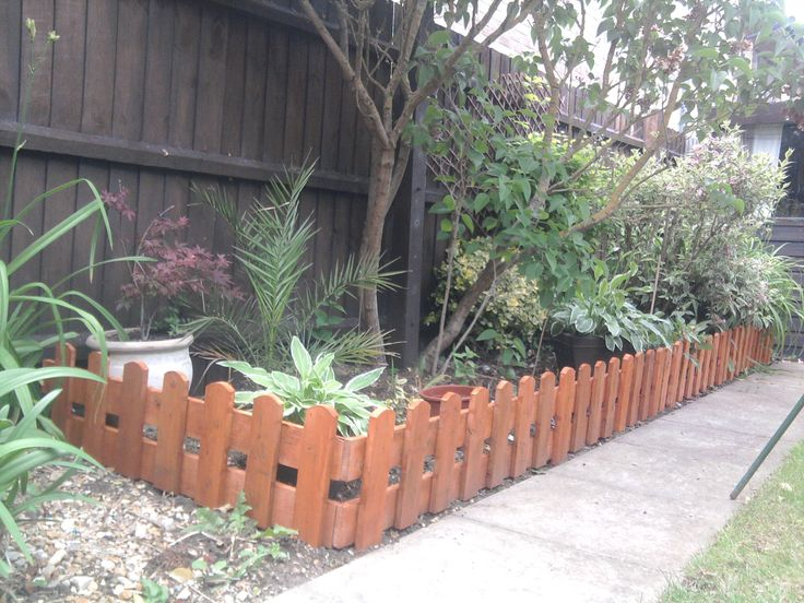 17 best ideas about small fence on pinterest small for Short fence ideas