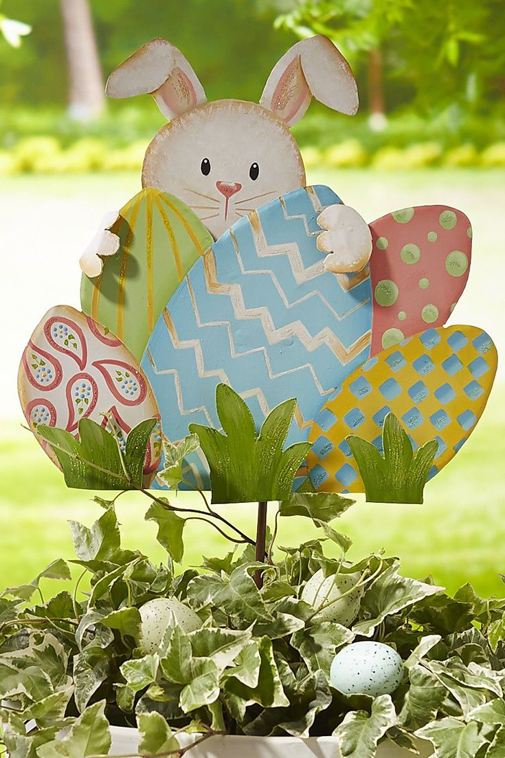 123 best easter outdoor decorations images on pinterest easter