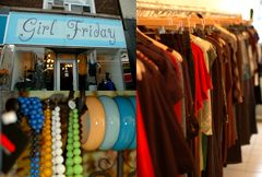 Girl Friday   A great boutique store with great smaller brand names.   Queen Street  740 Queen Street West  Toronto, ON