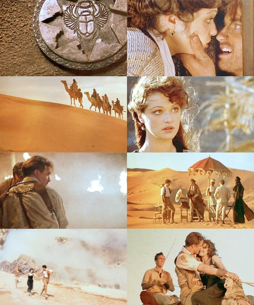 The Mummy- One of my guilty pleasures. I will never not LOVE this movie.