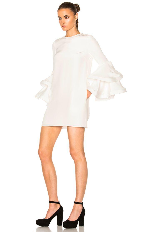 Houghton Damien Dress in Ivory (too short)