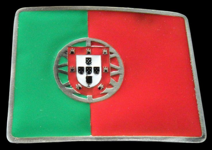 Portugal Porto Fado Portuguese Flag Belt Buckle #portugal #portuguese #portugalflag #portugueseflag #iloveportugal #flagbeltbuckles #beltbuckles #buckles