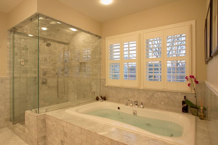 master bathroom photos gallery | Master Bathroom 3 - Shower Jacuzzi