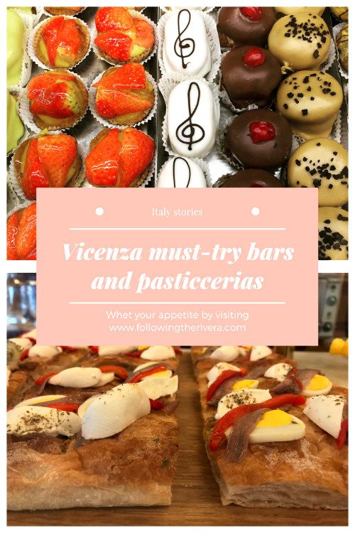 Whet your appetite at some of the best bars and pasticcerias in Vicenza, Italy. Buon appetito!