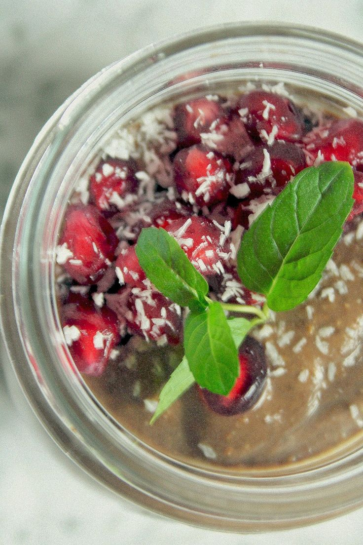 HELLO MORNING!!!: Karobwo-fistaszkowy pudding z nasion chia