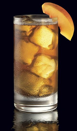 """Bottomless Buns"" - Pinnacle Cinnabon Vodka, orange juice, and club soda. via Lushworthy.com"