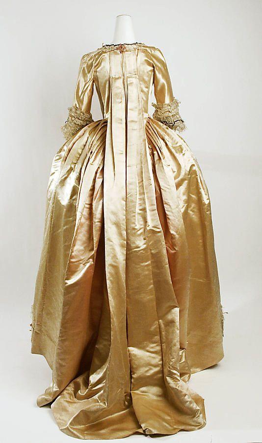1774-93 French Robe à la Française, MET