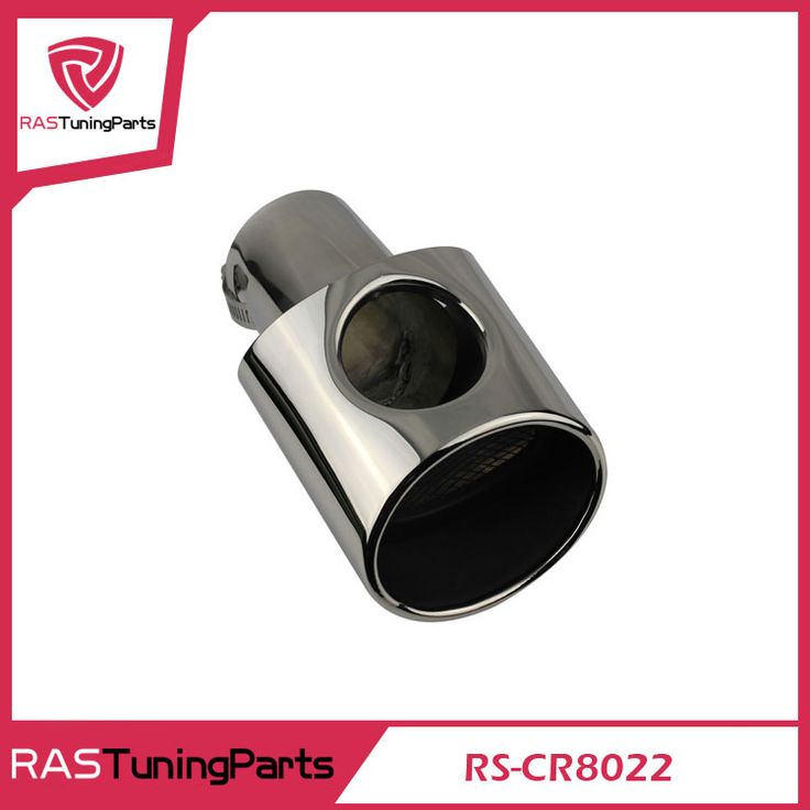 304 Stainless Steel Exhaust Muffler Tip Stainless Steel Pipe For 2009-2011 Focus 8022 RS-CR8022