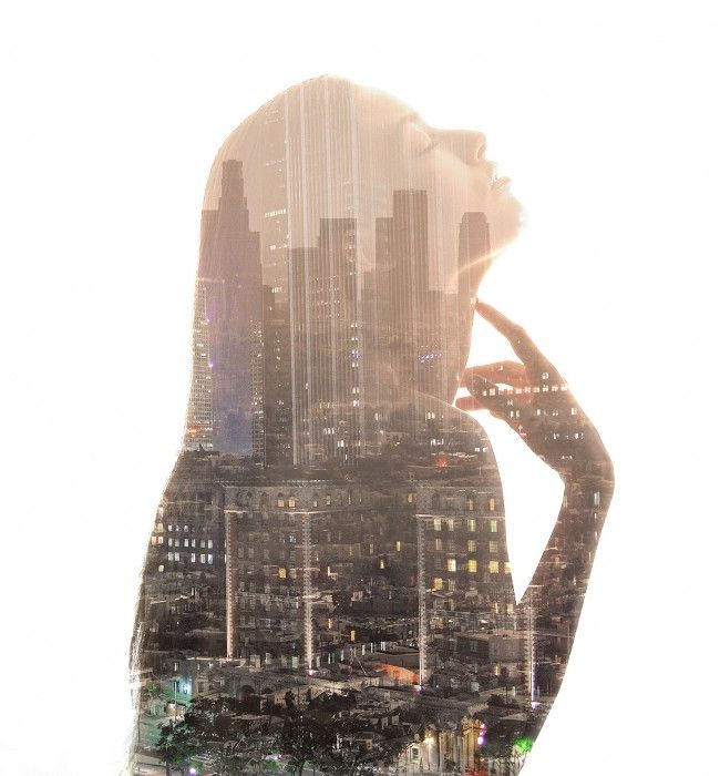 Double Exposure Imagery by Caesar Lima » Design You Trust. Design, Culture & Society.