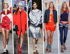 Spring/Summer Fashion Trends 2014 For Her - Sporty Style