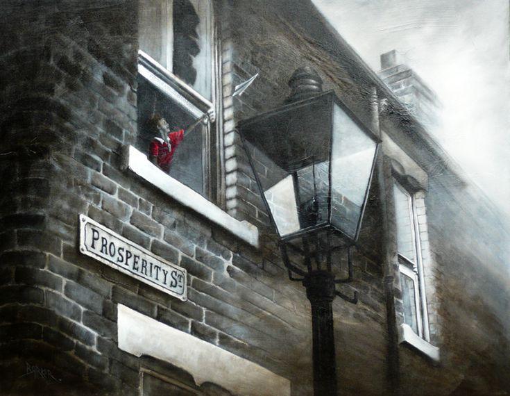 Bob Barker Art : One Day I'll Fly Away