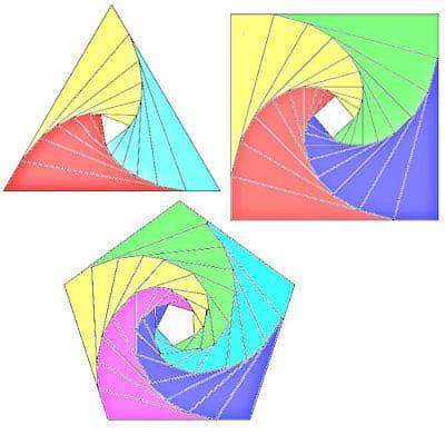 Download Free Iris Folding Templates