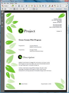 How to Write a Green or Environmental Business Proposal